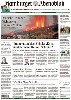 Hamburger Abendblatt (21.09.2021)