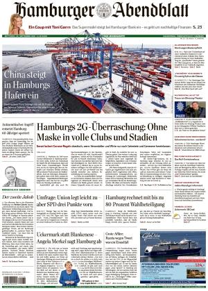Hamburger Abendblatt (22.09.2021)