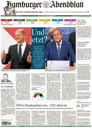 Hamburger Abendblatt (27.09.2021)