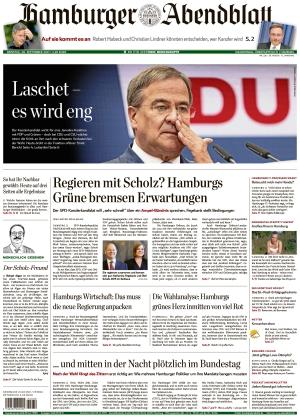 Hamburger Abendblatt (28.09.2021)
