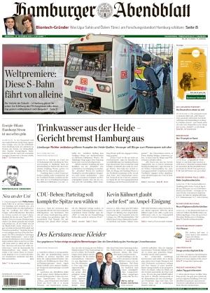 Hamburger Abendblatt (12.10.2021)