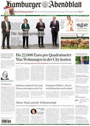 Hamburger Abendblatt (16.10.2021)