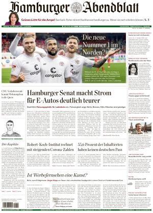 Hamburger Abendblatt (18.10.2021)