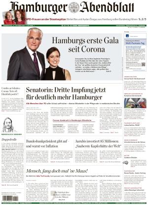 Hamburger Abendblatt (21.10.2021)