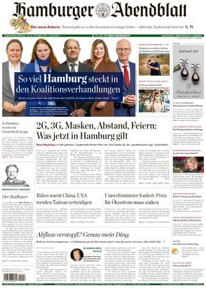 Hamburger Abendblatt (23.10.2021)