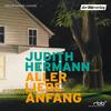 """Judith Hermann liest """"Aller Liebe Anfang"""""""