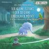 Vergrößerte Darstellung Cover: Der kleine Elefant, der so gerne einschlafen möchte. Externe Website (neues Fenster)