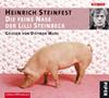 Vergrößerte Darstellung Cover: Die feine Nase der Lilli Steinbeck. Externe Website (neues Fenster)