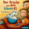 Vergrößerte Darstellung Cover: Der Drache aus dem blauen Ei. Externe Website (neues Fenster)