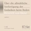 Vergrößerte Darstellung Cover: Über die allmähliche Verfertigung der Gedanken beim Reden. Externe Website (neues Fenster)