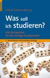 Vergrößerte Darstellung Cover: Was soll ich studieren?. Externe Website (neues Fenster)