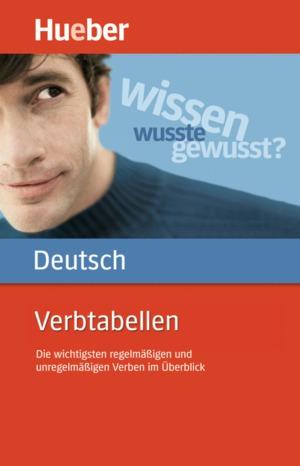 Verbtabellen Deutsch (DaF)