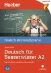 Vergrößerte Darstellung Cover: Deutsch für Besserwisser A2 [DaF]. Externe Website (neues Fenster)