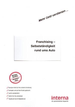 Franchising - Selbstständigkeit rund ums Auto