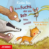 Vergrößerte Darstellung Cover: Vom Fuchs, der ein Reh sein wollte. Externe Website (neues Fenster)
