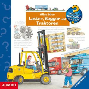 Alles über Laster, Bagger und Traktoren