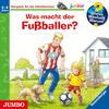 Was macht der Fußballer?