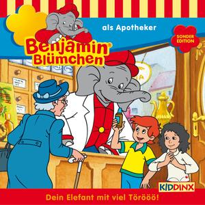 Benjamin Blümchen als Apotheker