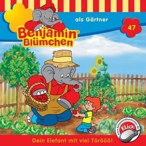 Benjamin Blümchen als Gärtner