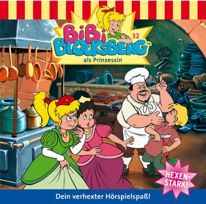 Bibi Blocksberg als Prinzessin