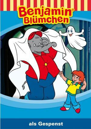 Benjamin Blümchen als Gespenst