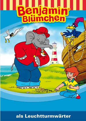 Benjamin Blümchen als Leuchtturmwärter