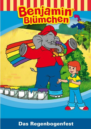 Benjamin Blümchen - Das Regenbogenfest