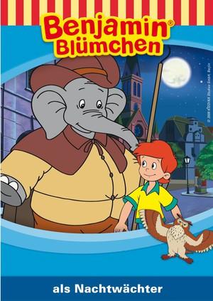 Benjamin Blümchen als Nachtwächter
