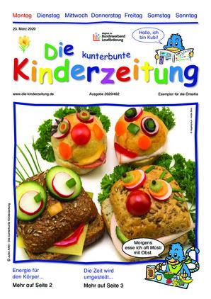Die kunterbunte Kinderzeitung (23.03.2020)