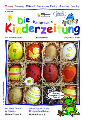 Die kunterbunte Kinderzeitung (06.04.2020)