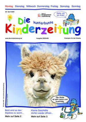 Die kunterbunte Kinderzeitung (20.04.2020)