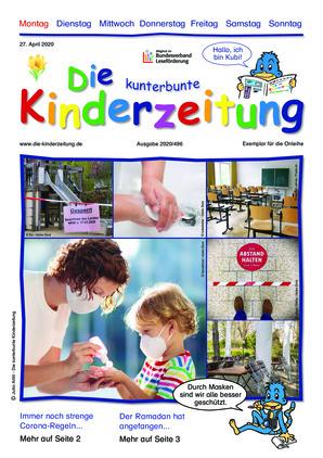 Die kunterbunte Kinderzeitung (27.04.2020)