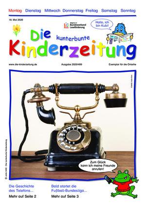 Die kunterbunte Kinderzeitung (18.05.2020)