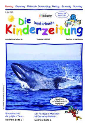 Die kunterbunte Kinderzeitung (06.07.2020)