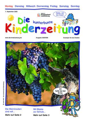 Die kunterbunte Kinderzeitung (07.09.2020)