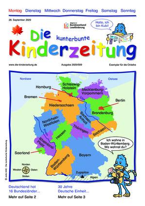 Die kunterbunte Kinderzeitung (24.09.2020)