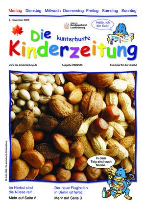 Die kunterbunte Kinderzeitung (09.11.2020)