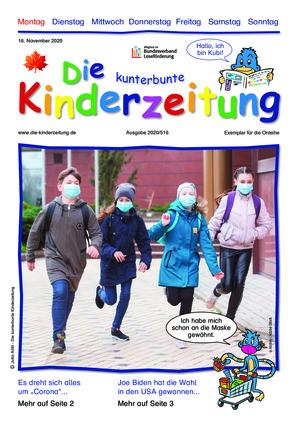 Die kunterbunte Kinderzeitung (16.11.2020)
