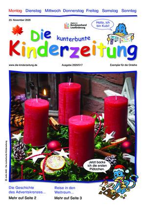 Die kunterbunte Kinderzeitung (23.11.2020)