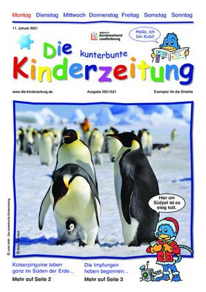 Die kunterbunte Kinderzeitung (11.01.2021)