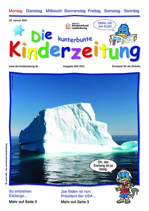 Die kunterbunte Kinderzeitung (25.01.2021)