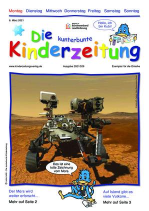 Die kunterbunte Kinderzeitung (08.03.2021)