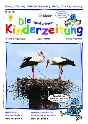 Die kunterbunte Kinderzeitung (22.03.2021)