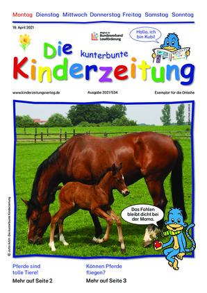 Die kunterbunte Kinderzeitung (19.04.2021)