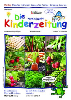Die kunterbunte Kinderzeitung (26.04.2021)