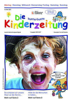 Die kunterbunte Kinderzeitung (10.05.2021)