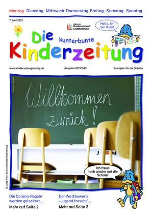 Die kunterbunte Kinderzeitung (07.06.2021)