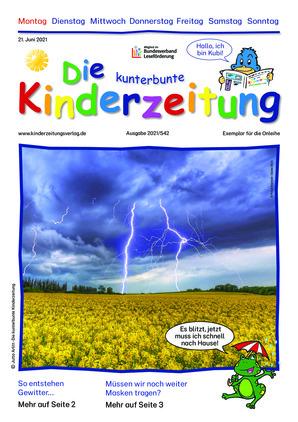 Die kunterbunte Kinderzeitung (21.06.2021)
