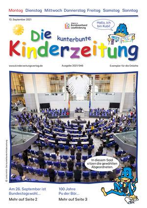 Die kunterbunte Kinderzeitung (13.09.2021)