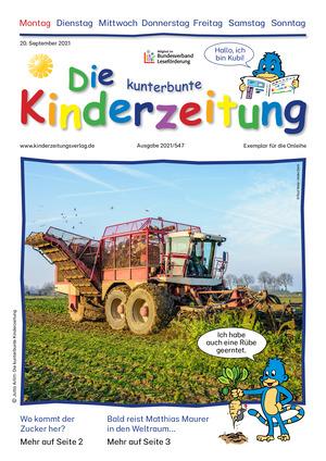 Die kunterbunte Kinderzeitung (20.09.2021)